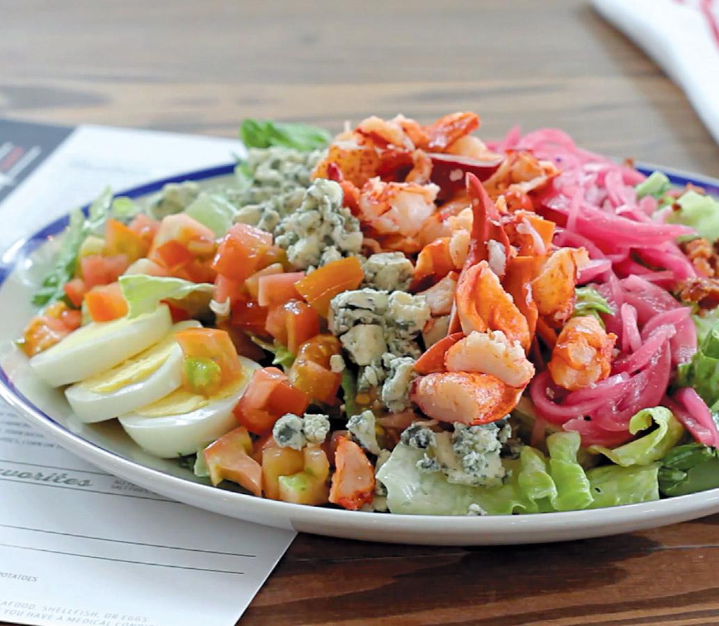 Lobster Cobb Salad Edible Delmarva