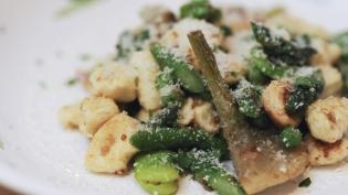 Ricotta Gnocchi with Vegetables